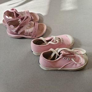 TODDLER GIRL SHOES LOT (Teva & Keds)